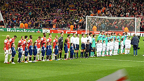 Arsenal Barcelona pic by wonker at Flickr